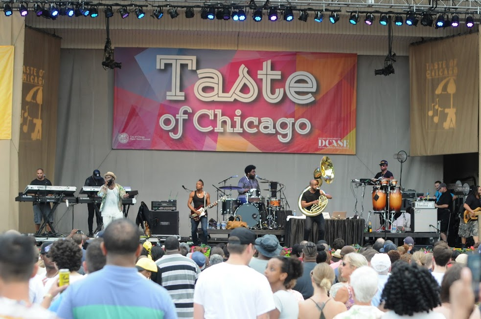 The Roots at Taste of Chicago 2016 (photo credit Adam Bielawski)