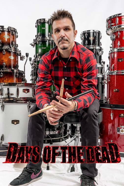 Charlie Benante of Anthrax at Days of the Dead