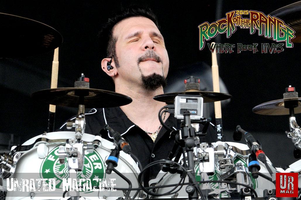 Charlie Benante of Anthrax (credit Adam Bielawski)