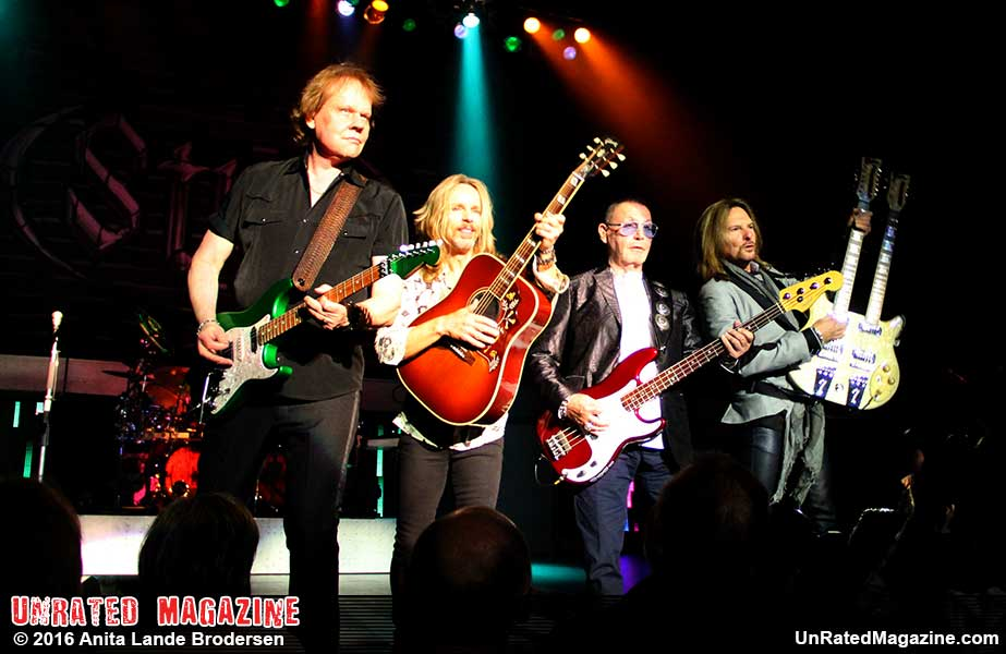 STYX at the Genesee Theatre, Waukegan, IL, USA on November 11, 2016