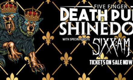 Five Finger Death Punch, Shinedown and Sixx A.M. Light Up Peoria