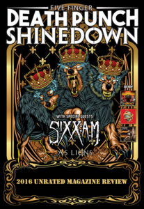Five Finger Death Punch (FFDP), ShineDown, and Sixx A.M. 2016 Tour