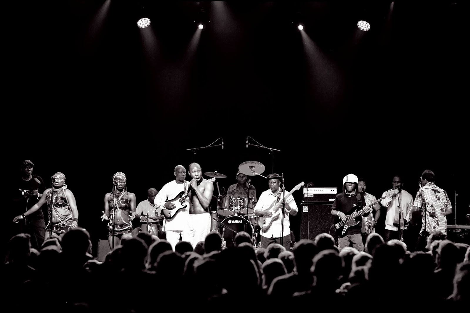 Seun Kuti and Egypt 80 Old Town School of Folk Music in Chicago Brings In A African Legend to Chicago (credit Maja Rios, October 25, 2016)