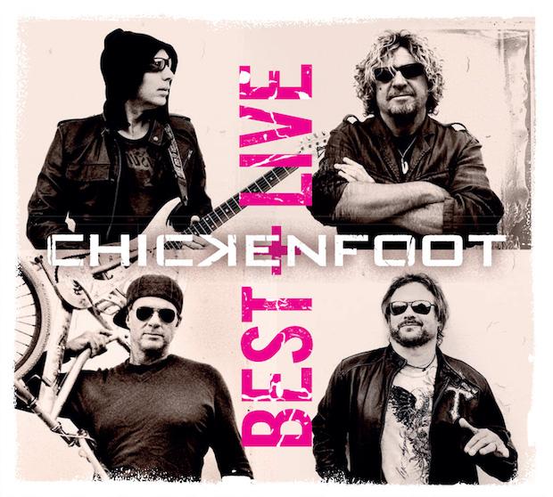 Chickenfoot – Best+Live (2017)