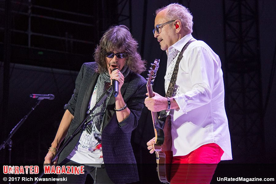 Foreigner performing at Huntington Bank Pavilion at Northerly Island in Chicago, IL on August 8, 2017. (credit by Rich Kwasniewski)