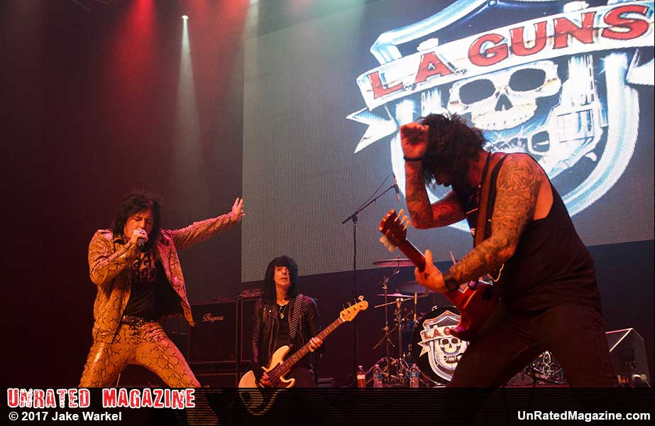 L.A. GUNS at The Arcada Theatre
