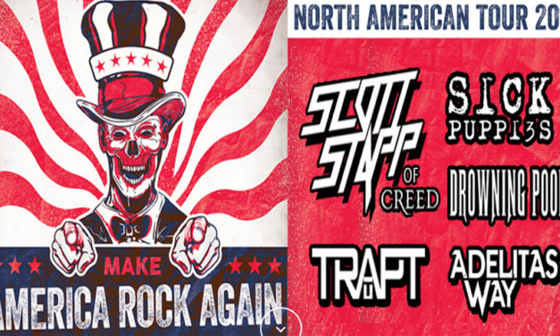 The Make America Rock Again Tour plays Sideouts on August 26th