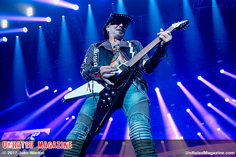 Scorpions and Megadeth Rock the Allstate Arena in Rosemont, IL