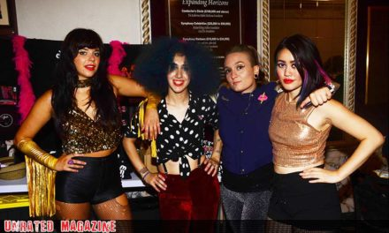 Interview with Glam Skanks During Their Tour with Adam Ant