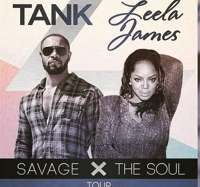 Tank and Leela James Live at the House of Blues