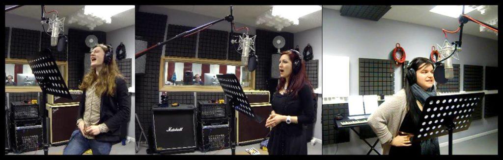 Fabulae Dramatis in the studio