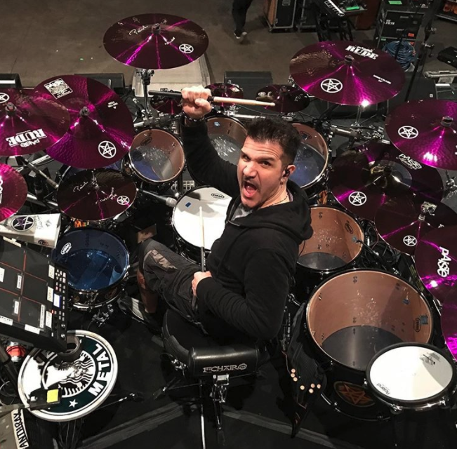 Coffee break with Anthrax's Charlie Benante