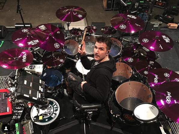 Charlie Benante on Drums